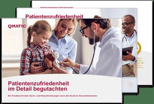 """Der globale Trendbericht """"Gesundheitswesen: Patientenzufriedenheit unter dem Mikroskop"""""""