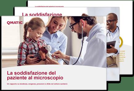 rapporto La soddisfazione del paziente al microscopio.