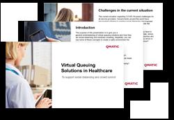 virtual queuing guide healthcare