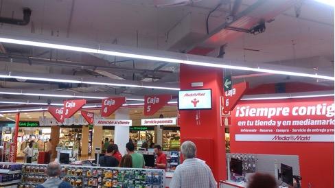 Cajas de Mediamarkt España