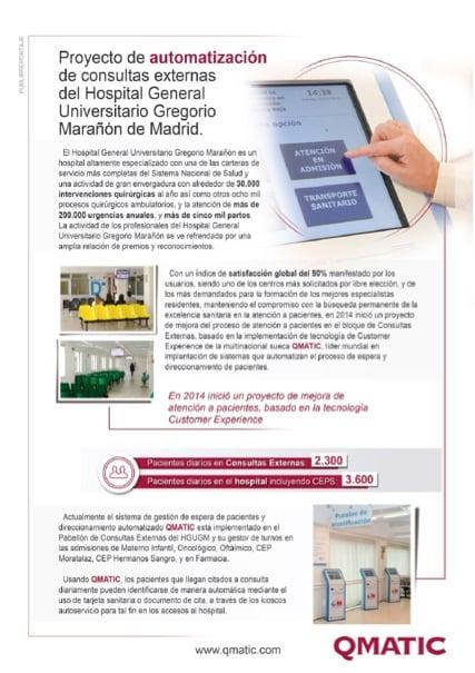 Caso de éxito Hospital General Universitario Gregorio Marañón de Madrid