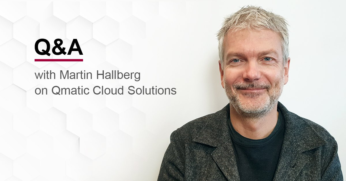 Qmatic product manager Martin Hallberg