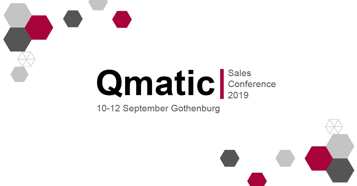 qmatic sales conference 2019