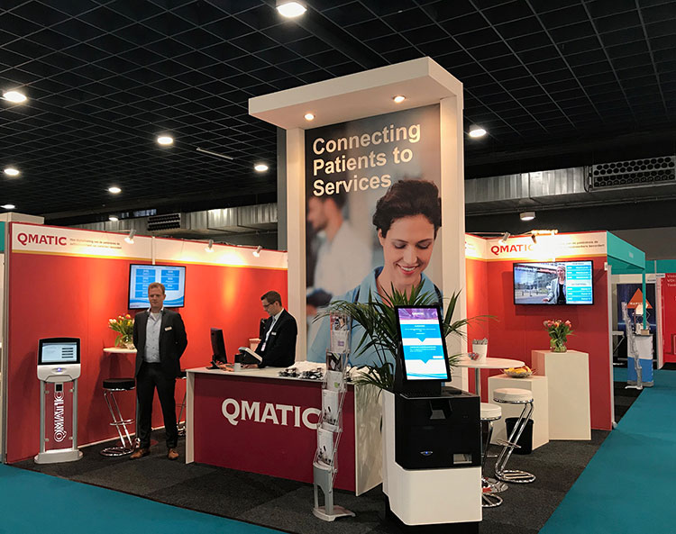 Qmatic at Zorg event