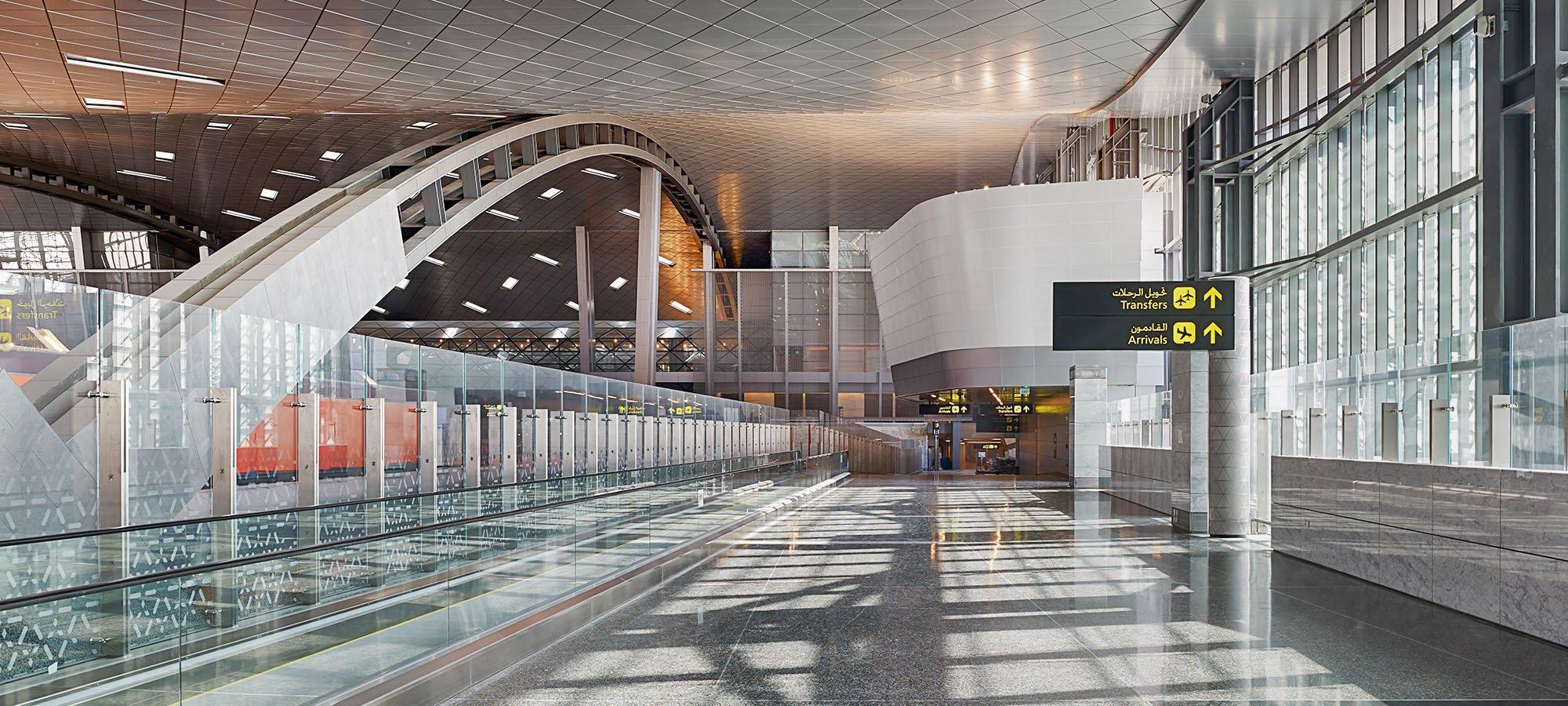 passenger terminal empty