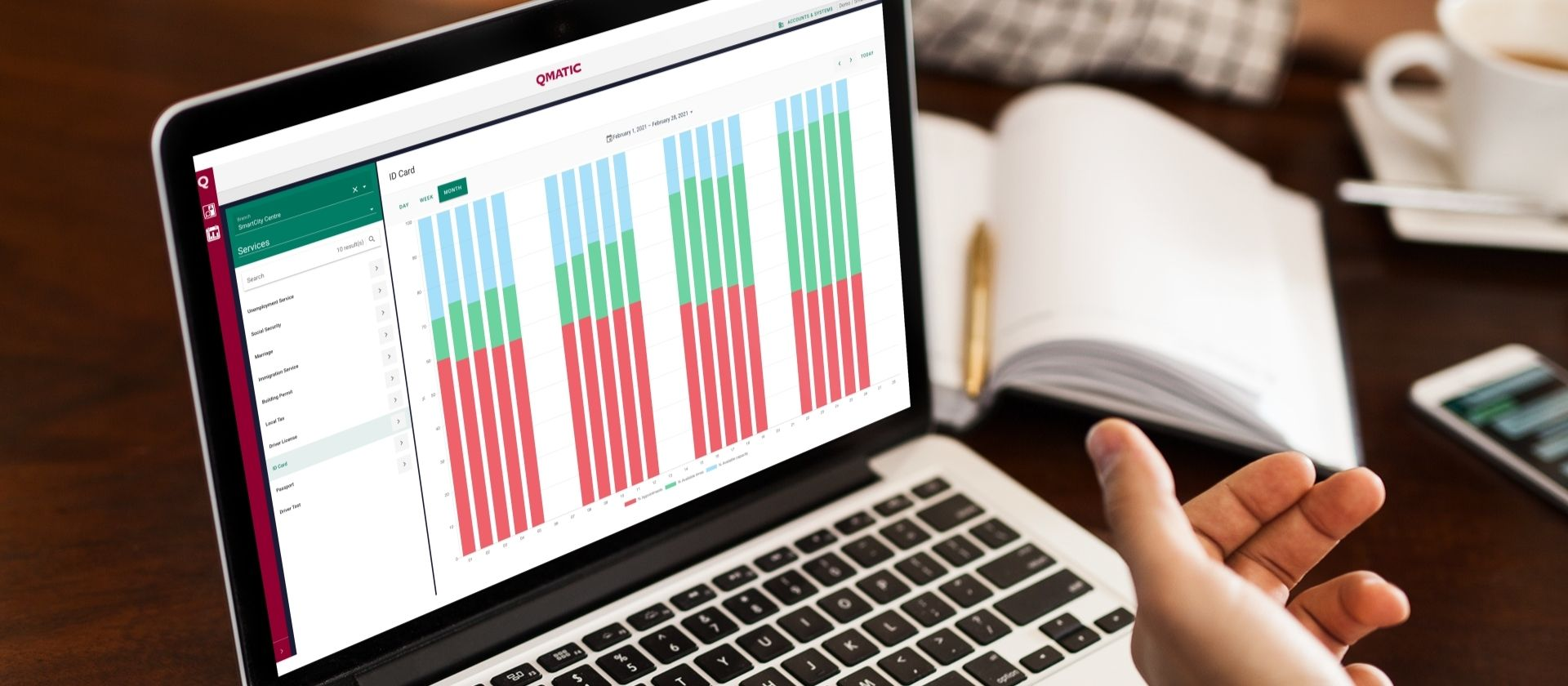 Smart appointments: Collecting data to improve appointment management