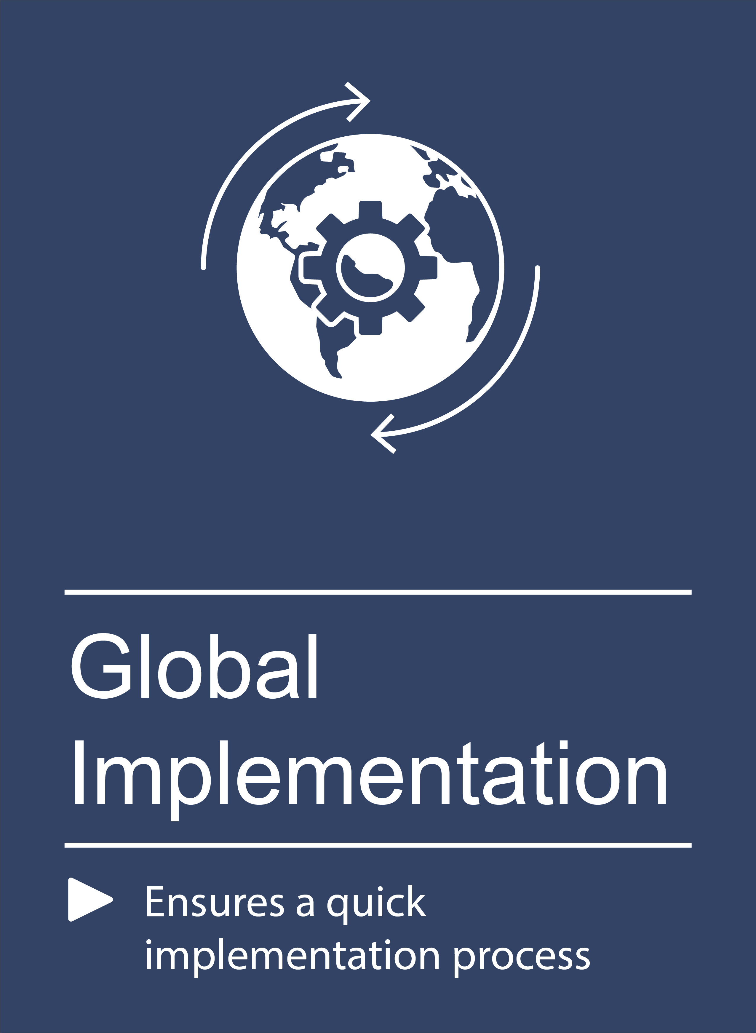 Qmatic global implementation