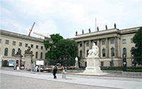 Landscape view of Humboldt University