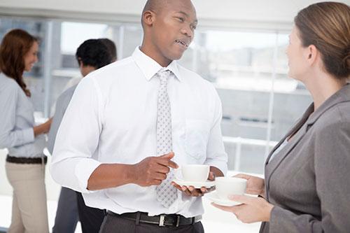 Medarbetare inom finansbranschen
