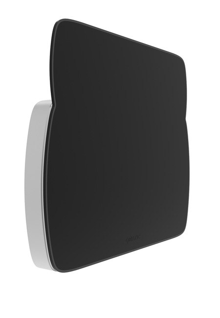 Qmatic Display svart med grå kanter
