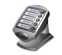 TP button ticket printer