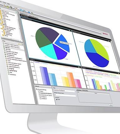 Statistiken auf dem Computerbildschirm